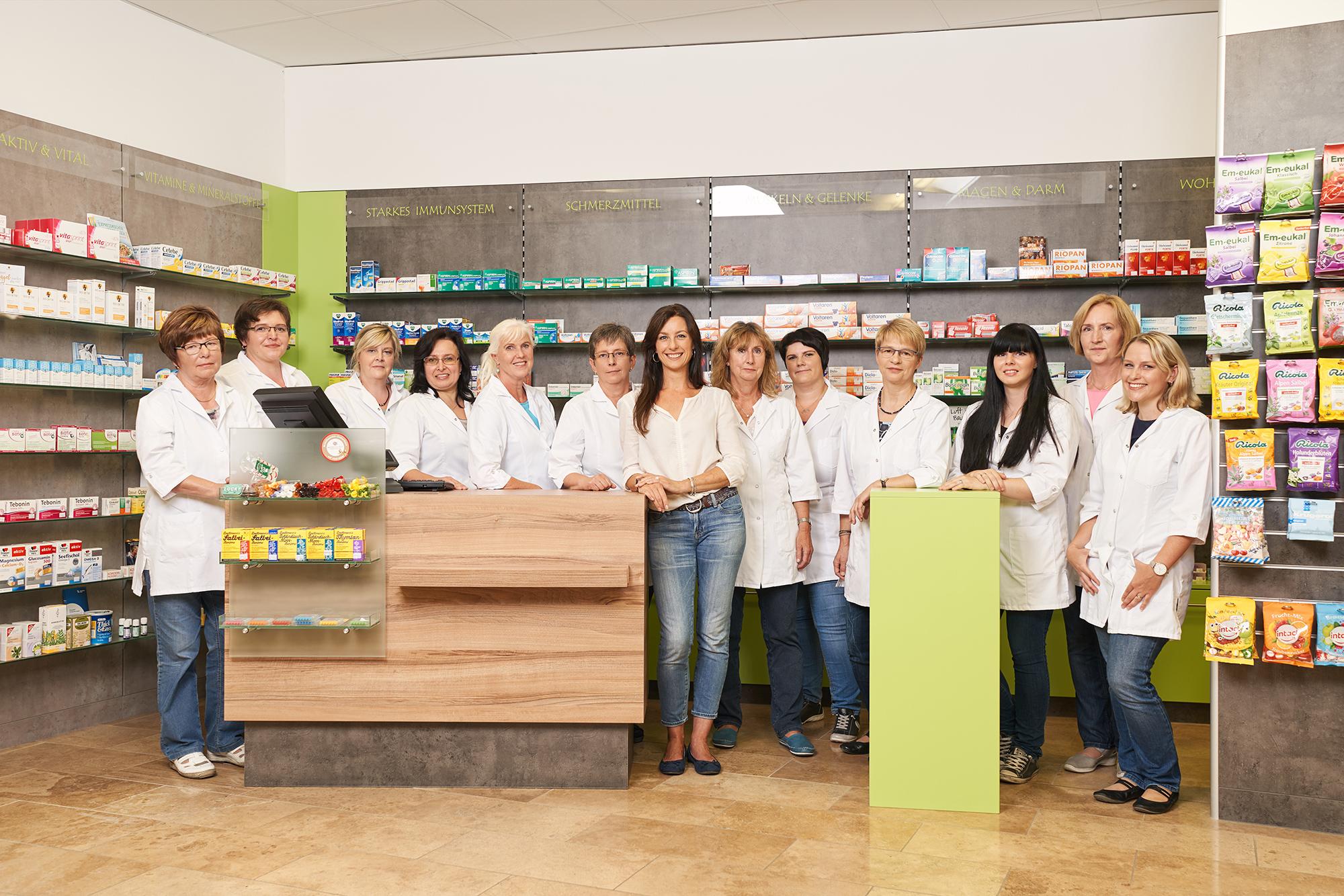 Linden Blüten Apotheke Team